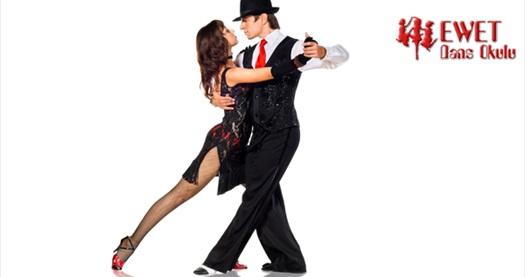 """Taksim Ewet Dans Okulu'nun 10. yılına özel """"1 aylık Tango eğitimi"""" 120 TL yerine 39 TL! Fırsatın geçerlilik tarihi için DETAYLAR bölümünü inceleyiniz."""