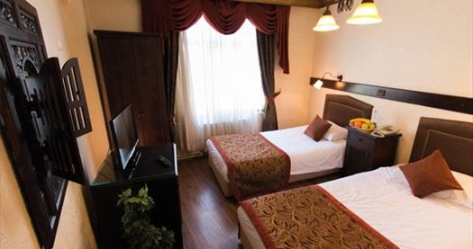 Sultanahmet Megara Palace Hotel'de kahvaltı dahil çift kişilik 1 gece konaklama 209 TL! Fırsatın geçerlilik tarihi için DETAYLAR bölümünü inceleyiniz.