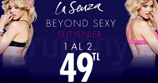 Vazgeçilmez dünya markası LA SENZA ile şov başlıyor! Lasenza.com.tr'den 200 TL ve üzeri alışverişlerde geçerli 50 TL hediye çeki 5 TL! 14 - 30 Nisan tarihleri arasında online alışverişlerde geçerli 50 TL indirim sadece 5 TL!