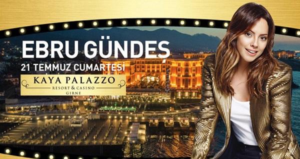 Kaya Palazzo Resort & Casino'da EBRU GÜNDEŞ galası ile 2 GECE TAM PANSİYON PLUS konaklama ve gidiş-dönüş uçak bileti kişi başı 2.039 TL'den başlayan fiyatlarla! Fırsatın geçerlilik tarihi için DETAYLAR bölümünü inceleyiniz.