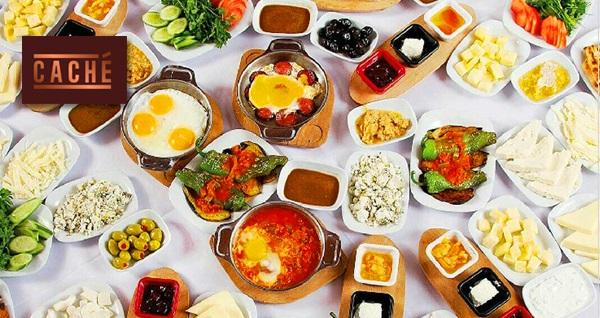 Ataşehir'in gözde mekanı Cache Restaurant'ta zengin içeriklerle dolu serpme kahvaltı menüsü 29,90 TL! Fırsatın geçerlilik tarihi için DETAYLAR bölümünü inceleyiniz.