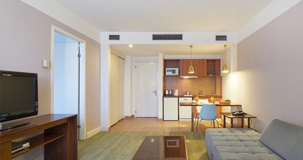 The Pendik Residence'ta çift kişilik konaklama keyfi 224 TL'den başlayan fiyatlarla! Fırsatın geçerlilik tarihi için DETAYLAR bölümünü inceleyiniz.
