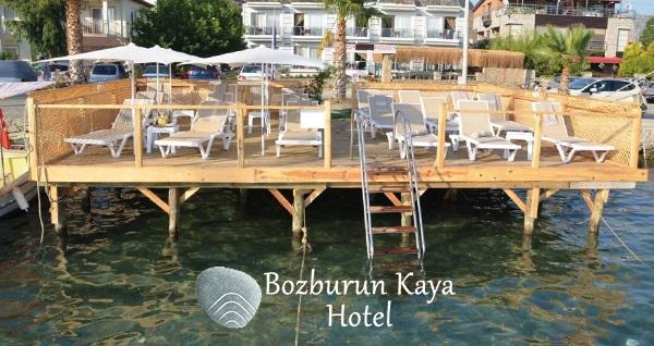 Marmaris Bozburun Kaya Hotel'in bahçe manzaralı odalarında kahvaltı dahil çift kişilik 1 gece konaklama 399 TL! Fırsatın geçerlilik tarihi için, DETAYLAR bölümünü inceleyiniz.