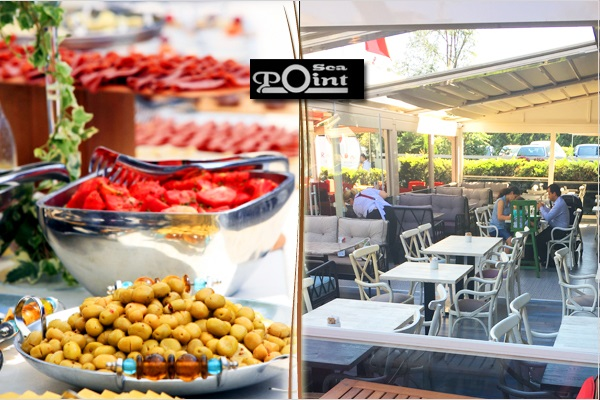 Denize nazır Sea Point Restaurant'ta tadına doyamayacağınız açık büfe kahvaltı 45 TL yerine 26 TL! Fırsatın geçerlilik tarihi için DETAYLAR bölümünü inceleyiniz.