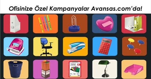 Kazandıran ofis marketiniz Avansas.com'da kampanyaları takip edin! 31 Aralık  2015 tarihine kadar geçerlidir.