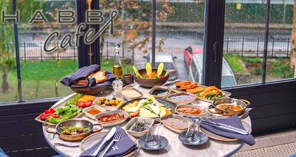 Balat HABB Cafe'de 2 kişilik serpme kahvaltı 80 TL yerine 60 TL! Fırsatın geçerlilik tarihi için, DETAYLAR bölümünü inceleyiniz.