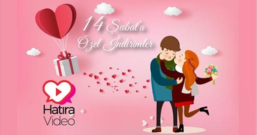 Hatiravideo.com'da Sevgililer Günü'ne özel en güzel anılarınızla dolu ömür boyu unutulmaz video hediyesi 130 TL yerine 90 TL! Fırsatın geçerlilik tarihi için DETAYLAR bölümünü inceleyiniz.