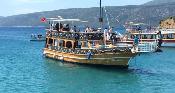 Olimpia1 gezi teknesi ile öğle yemeği dahil günübirlik Sığacık tekne turu 100 TL yerine 59,90 TL! Fırsatın geçerlilik tarihi için DETAYLAR bölümünü inceleyiniz.