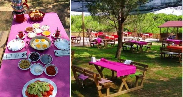 Büşra Gözleme Evi & Çamlı Tepe'de serpme köy kahvaltısı ve Türk kahvesi 44,90 TL! Fırsatın geçerlilik tarihi için DETAYLAR bölümünü inceleyiniz.