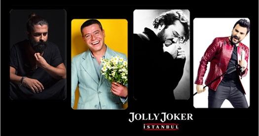 """Jolly Joker İstanbul Sahnesi'ndeki Eylül konserleri 44,90 TL! Konser seçimi yapmak için """"HEMEN AL"""" butonuna tıklayınız."""