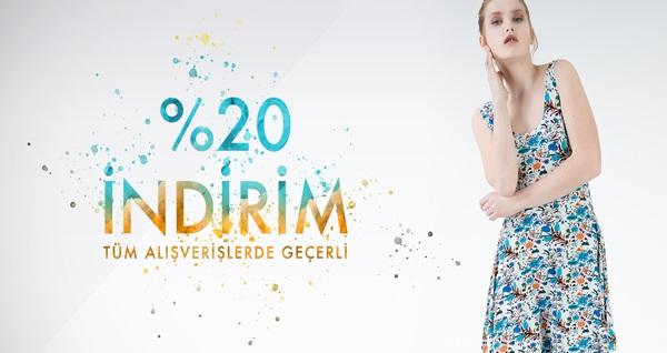 Jahr Marc Online Fashion Store'dan 22 yıllık tecrübesi ile tüm alışverişlerinizde geçerli %20 indirim! Fırsatın geçerlilik tarihi için DETAYLAR bölümünü inceleyiniz.