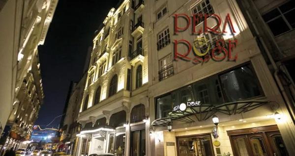 Beyoğlu Pera Rose Hotel'de açık büfe kahvaltı dahil çift kişilik 1 gece konaklama 209 TL! Fırsatın geçerlilik tarihi için, DETAYLAR bölümünü inceleyiniz.