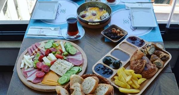 Kaymak Künefe'de 2 kişilik serpme kahvaltı 90 TL yerine 65 TL! Fırsatın geçerlilik tarihi için DETAYLAR bölümünü inceleyiniz.