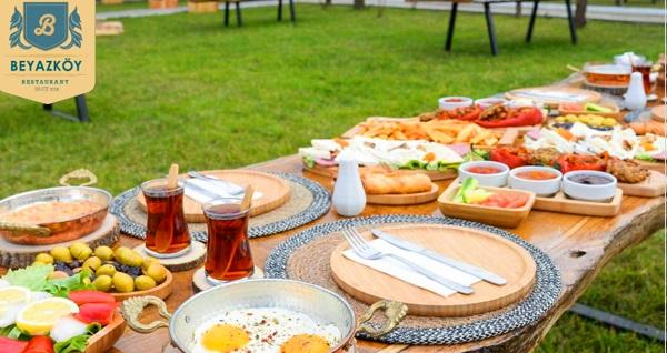 Beykoz Beyazköy'de eşsiz lezzetler ile sınırsız çay eşliğinde zengin serpme kahvaltı 29,90 TL! Fırsatın geçerlilik tarihi için DETAYLAR bölümünü inceleyiniz.