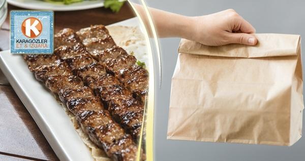 Karagözler Et & Izgara & Şarküteri'de paket servis veya gel al yemek menüsü 49,90 TL! Fırsatın geçerlilik tarihi için DETAYLAR bölümünü inceleyiniz.