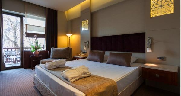 Kervansaray Thermal Hotel Bursa'da çift kişilik konaklama ve spa keyfi 337 TL'den başlayan fiyatlarla! Fırsatın geçerlilik tarihi için DETAYLAR bölümünü inceleyiniz.