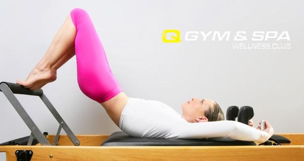 Q GYM & SPA Wellness Club'da profesyonel eğitmenler ile reformer pilates dersi 150 TL yerine 69 TL! Fırsatın geçerlilik tarihi için DETAYLAR bölümünü inceleyiniz.