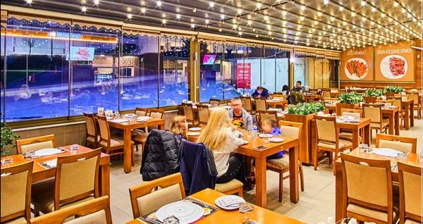 Şirazen Restaurant'da geleneksel lezzetlerden oluşan serpme kahvaltı menüsü 24 TL! Fırsatın geçerlilik tarihi için DETAYLAR bölümünü inceleyiniz.