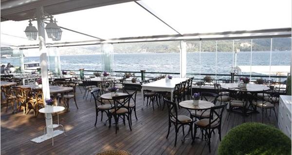 Göze Sarıyer'de Boğaz manzarası eşliğinde çift kişilik enfes akşam yemeği menüsü 119,90 TL! Fırsatın geçerlilik tarihi için DETAYLAR bölümünü inceleyiniz.
