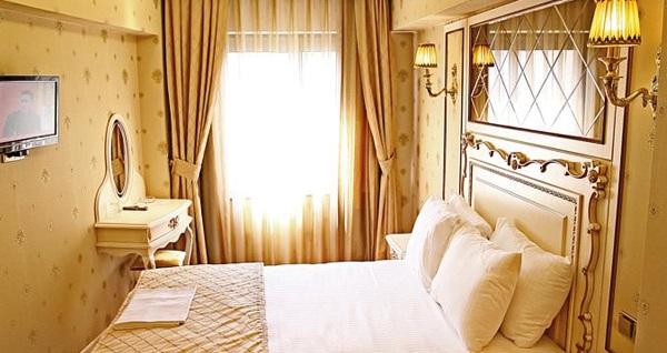Laleli Büyük Hamit Hotel'de çift kişilik 1 gece YARIM PANSİYON konaklama 240 TL yerine 189 TL! Fırsatın geçerlilik tarihi için, DETAYLAR bölümünü inceleyiniz.