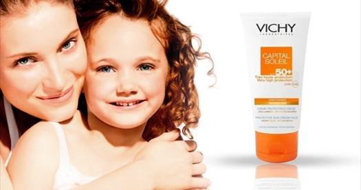 Güneşin Zararlı Etkilerinden Vichy ile Korunun! Vichy Capital Soleil SPF 50+ Güneş Kremi 2 Adet (50 ml + 50 ml) 90 TL yerine 22 TL! Tüm Türkiye'ye kargo hizmeti vardır.