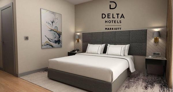 Delta Hotels By Marriott Istanbul Halic'te çift kişilik 1 gece konaklama 349 TL yerine 299 TL! Fırsatın geçerlilik tarihi için DETAYLAR bölümünü inceleyiniz.