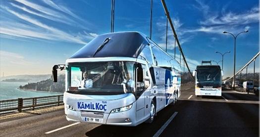 Kamil Koç'tan tek seferde alınacak 2 biletin her biri için %20 indirim sağlayan indirim çeki 4 TL! 29 Kasım - 31 Aralık 2019 tarihleri arasında alınacak fırsat kodlarında geçerlidir.