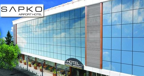 Küçükçekmece Sapko Airport Hotel'de kahvaltı dahil çift kişilik 1 gece konaklama keyfi 229 TL! Fırsatın geçerlilik tarihi için DETAYLAR bölümünü inceleyiniz.