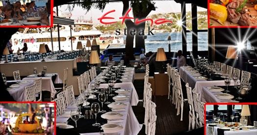 Kuruçeşme Sortie Etna Steak'te 3 yerli içecek eşliğinde akşam yemeği menüsü 89 TL! 30.9.2016 tarihine kadar haftanın her günü geçerlidir.