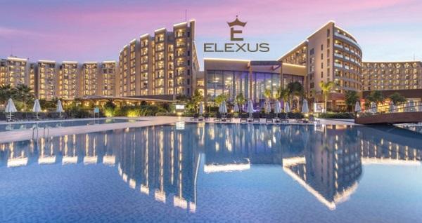 Elexus Hotel'de TAM PANSİYON PLUS uçaklı konaklama paketleri kişi başı 1.449 TL'den başlayan fiyatlarla! Fırsatın geçerlilik tarihi için, DETAYLAR bölümünü inceleyiniz.