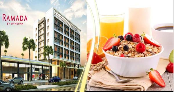 Ramada by Wyndham Tire'de zengin açık büfe kahvaltı kişi başı 29 TL! Fırsatın geçerlilik tarihi için DETAYLAR bölümünü inceleyiniz.