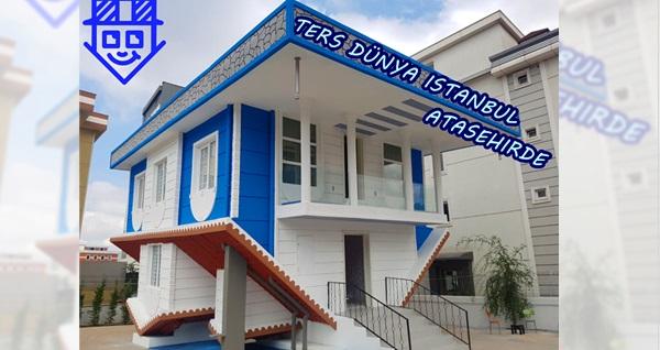 Burada ters giden bir şeyler var! Türkiye'nin en büyük ters evi Ataşehir Ters Dünya'da sıra dışı bir deneyim 25 TL yerine 19 TL! Fırsatın geçerlilik tarihi için DETAYLAR bölümünü inceleyiniz.
