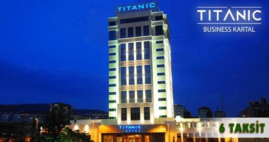 Ayrıcalıklı tatilin vazgeçilmezi Titanic Business Kartal'da kahvaltı dahil çift kişilik 1 gece konaklama ve spa keyfi 300 TL yerine 189 TL! Özel günler hariç, Kurban Bayramı DAHİL; 29 Aralık 2014 tarihine kadar, Cuma-Cumartesi-Pazar günleri geçerlidir. Fırsata, çift kişilik 1 gece konaklama, kahvaltı ve spa kullanımı dahildir.