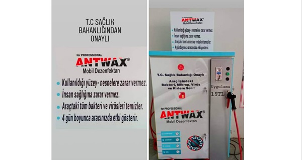 ANTWAX Oto Clinic'te ekspres temizlik, motor temizliği, kabin içi dezenfeksiyon, cilalı dış yıkama uygulamalarını içeren bakım paketi 200 TL yerine 99 TL! Fırsatın geçerlilik tarihi için DETAYLAR bölümünü inceleyiniz.