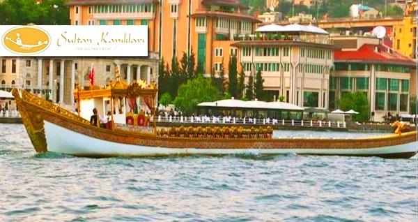 Sultan Kayıkları ile İstanbul'u Haliç'ten izleyin! Sizi zamanda yolculuğa çıkaracak bir sefa akşamı, Sultan Kayıkları Turu 50 TL yerine 25 TL! Fırsatın geçerlilik tarihi için DETAYLAR bölümünü inceleyiniz.
