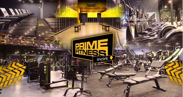 Prime Fitness İncirli'de 1 aylık fitness üyeliği