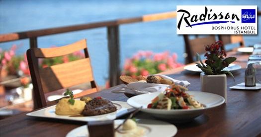 Ortaköy Radisson Blu Bosphorus Hotel'de Boğaz manzarası eşliğinde akşam yemeği 75 TL'den başlayan fiyatlarla! Fırsatın geçerlilik tarihi için DETAYLAR bölümünü inceleyiniz. Ramazan döneminde geçerli değildir.