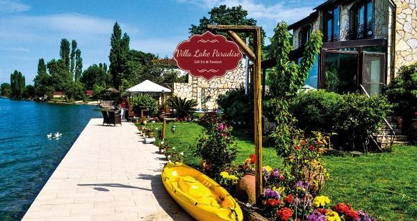 Villa Lake Paradise Göl Evi'nde konaklama seçenekleri