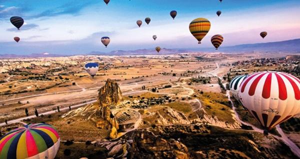 Masallar diyarına yolculuk! 2 gün 1 gece 5* otelde konaklamalı 'Kapadokya - Ihlara - Hacıbektaş Turu' Malitur ile kişi başı 289 TL! Tur kalkış tarihleri için, DETAYLAR bölümünü inceleyiniz.