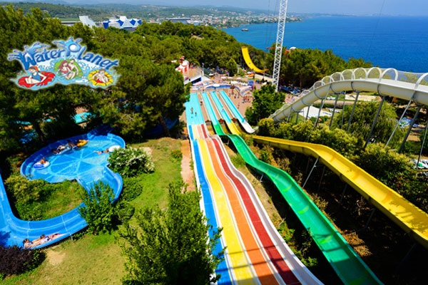 Akdeniz'in en büyük su parkı Alanya Water Planet Hotel & Aquapark'ta aquapark girişi ve açık büfe fast food ile gün boyu limitsiz soft içecek kişi başı 60 TL yerine Sadece 45 TL! Fırsatın geçerlilik tarihi için, DETAYLAR bölümünü inceleyiniz.