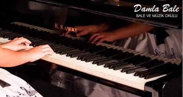 Damla Bale ve Müzik Okulu Nişantaşı Şubesi'nde 1 derslik piyano eğitimi 150 TL yerine 75 TL! Fırsatın geçerlilik tarihi için DETAYLAR bölümünü inceleyiniz.