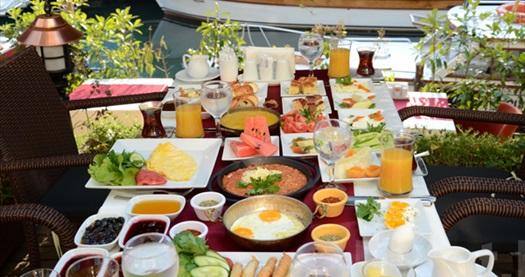 Göksu Nehir Restaurant'ta zengin içerikli serpme kahvaltı 40 TL yerine 19,90 TL! Fırsatın geçerlilik tarihi için DETAYLAR bölümünü inceleyiniz.