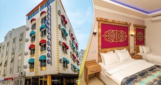 Antalya Linda Expo Hotel'de kahvaltı dahil çift kişilik 1 gece konaklama 199 TL! Fırsatın geçerlilik tarihi için, DETAYLAR bölümünü inceleyiniz.