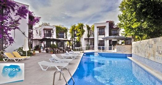 Orion Hotel Bitez'de kahvaltı dahil çift kişilik 1 gece konaklama 210 TL yerine 120 TL! Fırsatın geçerlilik tarihi için, DETAYLAR bölümünü inceleyiniz.