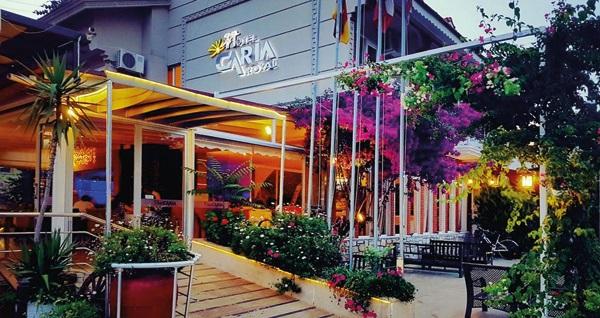 Dalyan Otel Caria Royal'de kahvaltı dahil çift kişilik 1 gece konaklama 119 TL! Fırsatın geçerlilik tarihi için, DETAYLAR bölümünü inceleyiniz.