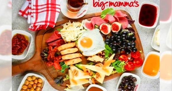 Big Mamma's Florya'da serpme kahvaltı keyfi (kişi başı) 37 TL! Fırsatın geçerlilik tarihi için DETAYLAR bölümünü inceleyiniz.