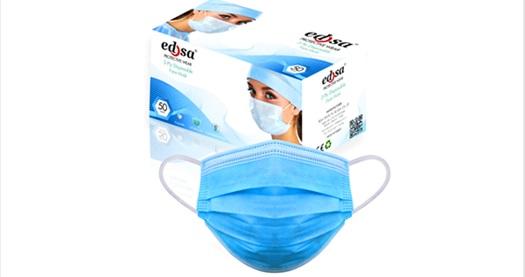 Edsa 1 kutu 3 katlı Meltblownlu Ultrasonik tek kullanımlık medikal koruyucu telli yüz maskesi seçenekleri 48,99 TL'den başlayan fiyatlarla! Fırsatın geçerlilik tarihi için DETAYLAR bölümünü inceleyiniz.