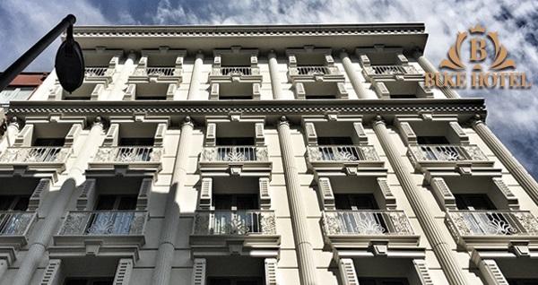Büke Hotel Şişli'de kahvaltı dahil çift kişilik 1 gece konaklama 249 TL! Fırsatın geçerlilik tarihi için DETAYLAR bölümünü inceleyiniz.