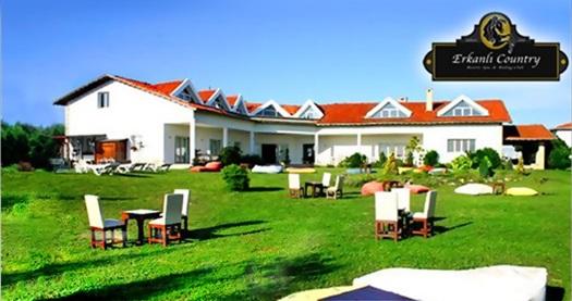 Silivri Erkanlı Country Resort Spa'da serpme kahvaltı ve atlı tur dahil çift kişilik 1 gece konaklama ve spa 325 TL yerine 220 TL! Fırsatın geçerlilik tarihi için, DETAYLAR bölümünü inceleyiniz.