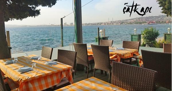 Çatkapı Restaurant farkıyla deniz manzarası eşliğinde kahvaltı 45 TL yerine 29,90 TL! Fırsatın geçerlilik tarihi için DETAYLAR bölümünü inceleyiniz.